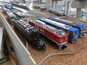 機関車群模型