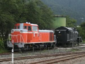 若桜駅の保存車両